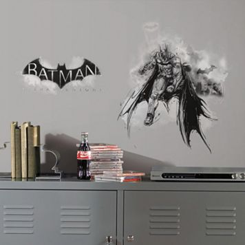 Batman Arkham Knight Darkness Wall Graphix Peel & Stick Giant Wall Decal Set