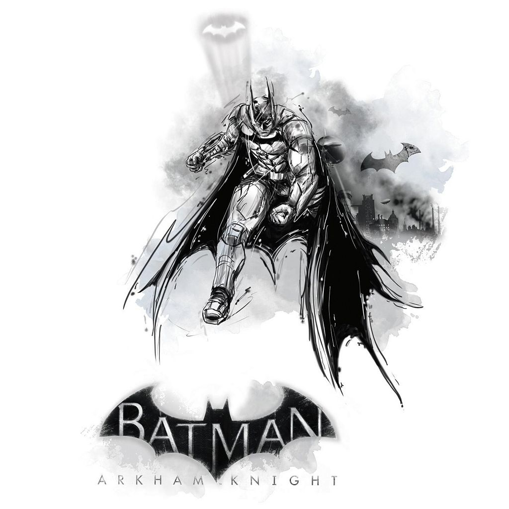 Batman Arkham Knight Darkness Wall Graphix Peel and Stick Giant Wall Decal Set