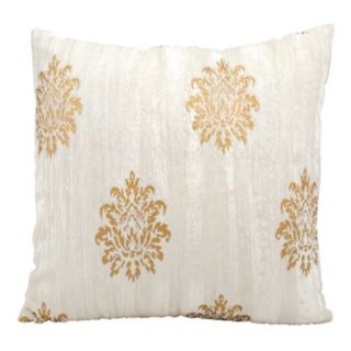 Michael Amini Medallion Throw Pillow