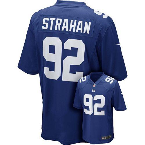 Top Men's Nike New York Giants Michael Strahan Jersey