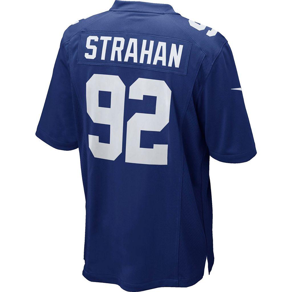 Men's Nike New York Giants Michael Strahan Jersey