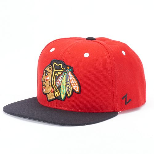 Adult Zephyr Chicago Blackhawks MVP Adjustable Cap