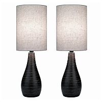 Quatro 2-piece Table Lamp Set