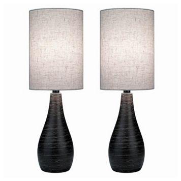 Quatro 2-piece Table Lamp Set