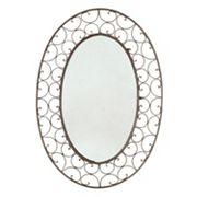 Scroll Oval Wall Mirror