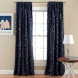 Lush Decor Star Blackout Window Curtain Pair - 52'' x 84''