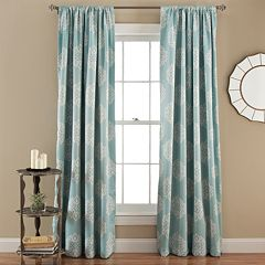Lush Decor Sophie Blackout Window Curtain Pair - 52'' x 84''