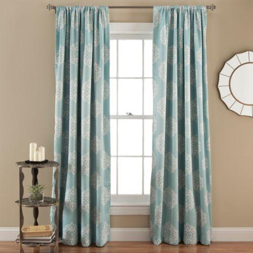"Lush Decor Sophie Blackout Curtain Pair – 52"" x 84"""