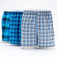 Men's Hanes 3-Pack Boxers