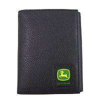 Men's John Deere Leather Trifold Wallet