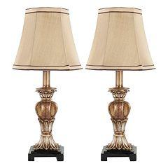Safavieh 2-piece Gabriella Mini Table Lamp Set
