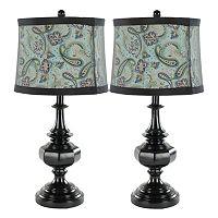 Safavieh 2-piece Olivia Table Lamp Set