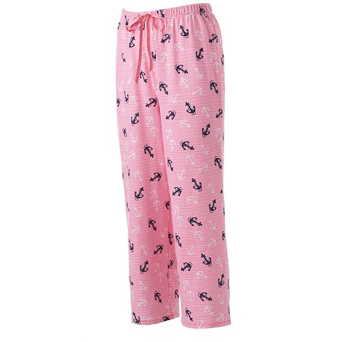 df227ddfdf82 Women's Croft & Barrow® Pajamas: Seaside Dreams Knit Pajama Capris