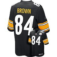 Men's Nike Pittsburgh Steelers Antonio Brown Replica Jersey