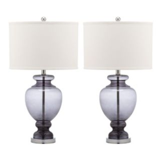 Safavieh 2-piece Glass Table Lamp Set