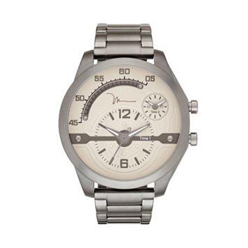 Marc Anthony Men's Gunmetal Stainless Steel Watch
