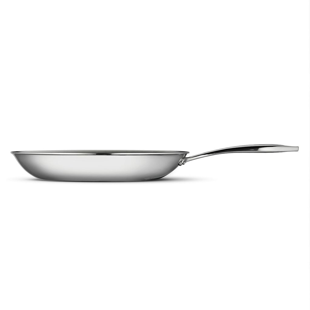Tramontina Gourmet Tri-Ply Clad Stainless Steel 12-in. Frypan