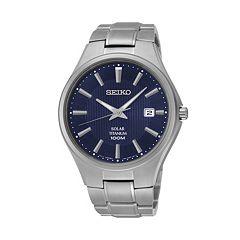 Seiko Men's Titanium Solar Watch - SNE381