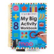 Kohl's Cares® Wipe Clean My Big Activity Workbook
