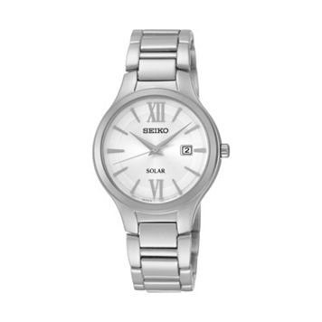 Seiko Women's Stainless Steel Solar Watch - SUT207