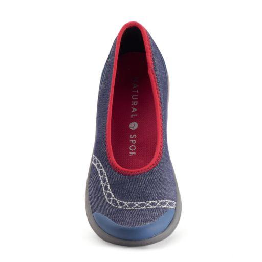 Natural Sport Fair Women's Slip-On Wedge Shoes