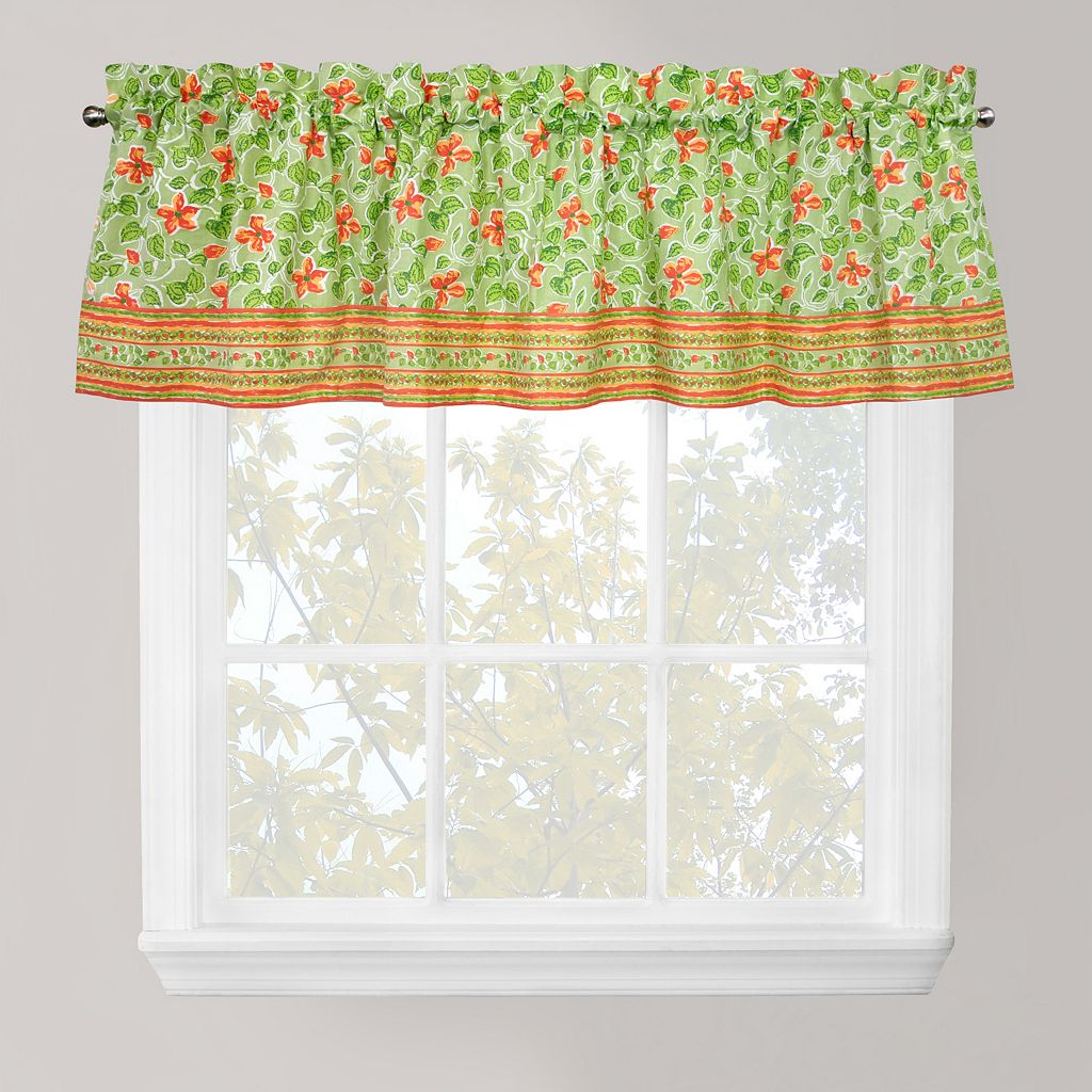 Park B. Smith Boutique Flowers Kitchen Window Valance - 60'' x 14''