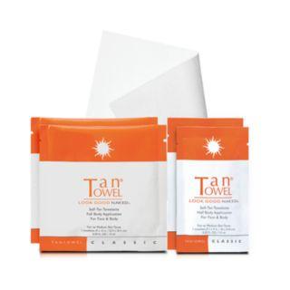 TanTowel 4-pk. Tan To Go Classic Self-Tan Towelette Kit