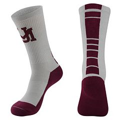 Men's Mojo Montana Grizzlies Champ 1/2-Cushion Performance Crew Socks