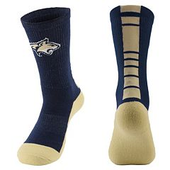 Men's Mojo Montana State Bobcats Champ 1/2-Cushion Performance Crew Socks