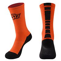 Men's Mojo Oklahoma State Cowboys Champ 1/2-Cushion Performance Crew Socks