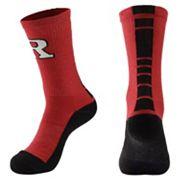 Men's Mojo Rutgers Scarlet Knights Champ 1/2-Cushion Performance Crew Socks