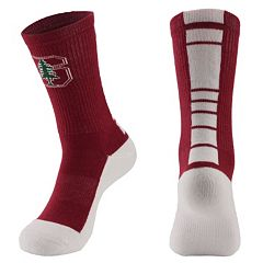 Men's Mojo Stanford Cardinal Champ 1/2-Cushion Performance Crew Socks