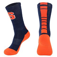 Men's Mojo Syracuse Orange Champ 1/2-Cushion Performance Crew Socks