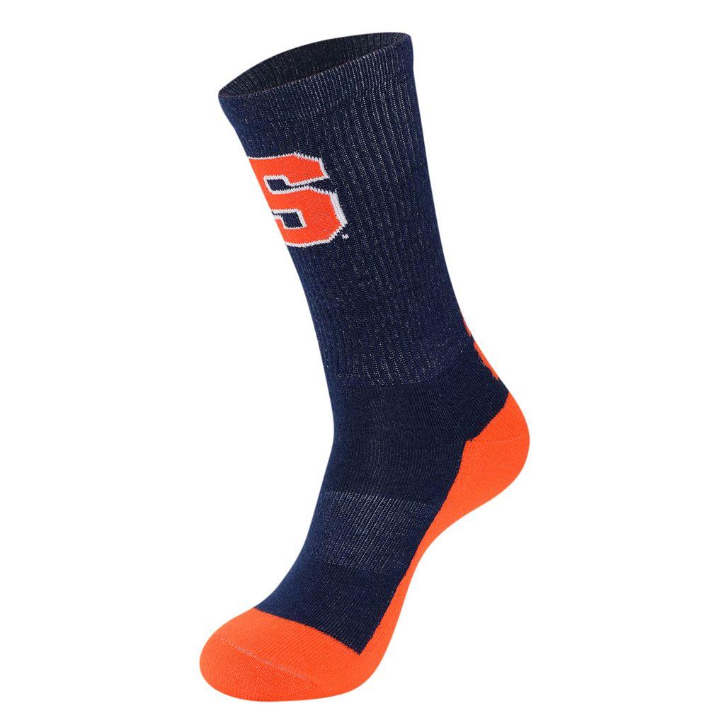 Men's Mojo Syracuse Orange Champ 1/2-Cushion Performance Crew Socks