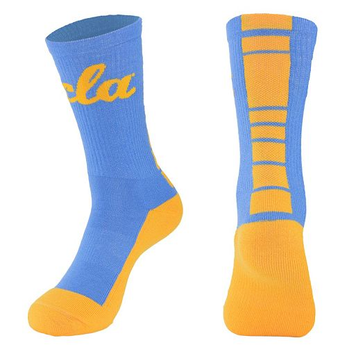 Men's Mojo UCLA Bruins Champ 1/2-Cushion Performance Crew Socks