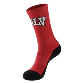 Men's Mojo UNLV Rebels Champ 1/2-Cushion Performance Crew Socks