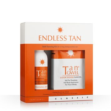 TanTowel Endless Tan Classic Self-Tanning Kit