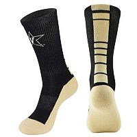 Men's Mojo Vanderbilt Commodores Champ 1/2-Cushion Performance Crew Socks