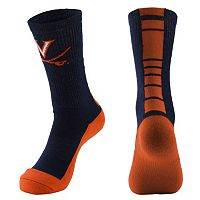 Men's Mojo Virginia Cavaliers Champ 1/2-Cushion Performance Crew Socks
