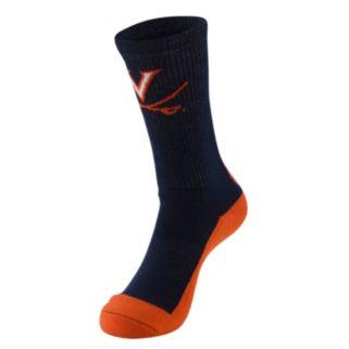 Men's Mojo Virginia Cavaliers Champ 1/2-Cushion Performance Crew Socks