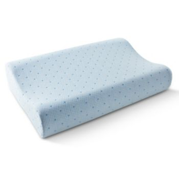 Arctic Sleep by Pure Rest Cool-Blue Memory Foam Contour Pillow - Standard