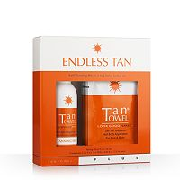 TanTowel Endless Tan Plus Self-Tanning Kit