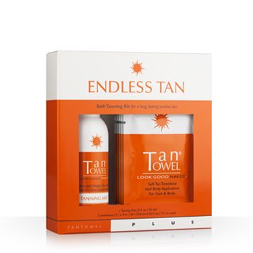 TanTowel Endless Tan Plus Self-Tanning Kit