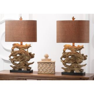 Safavieh 2-piece Forester Table Lamp Set