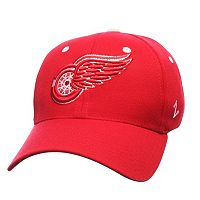 Adult Zephyr Detroit Red Wings Breakaway Stretch Fit Cap