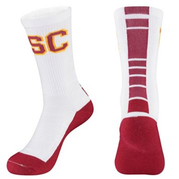 Men's Mojo USC Trojans Champ 1/2-Cushion Performance Crew Socks