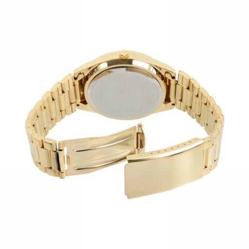 Journee Collection Women's Tie-Dye Stainless Steel Watch