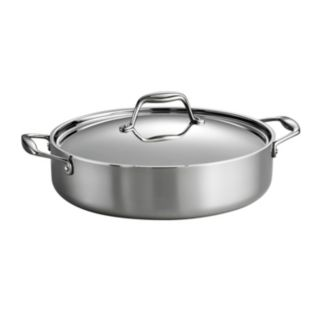 Tramontina Gourmet Tri-Ply Clad Stainless Steel 5-qt. Braiser