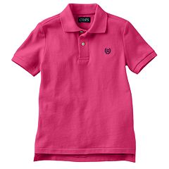 Chaps Solid Polo - Toddler Boy
