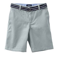 Chaps Flat Front Shorts - Toddler Boy
